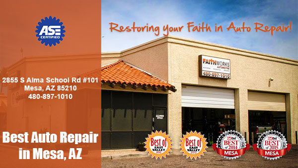 Faith Works Automotive Car Repair Shop 85210