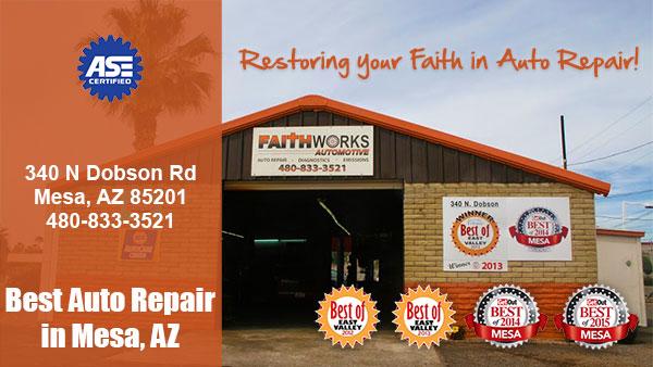 Faith Works Automotive Car Repair Shop 85201